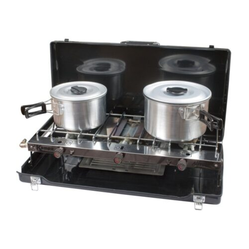 Alfresco Double Gas Hob & Grill