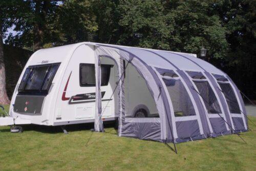 porch leisurewize ontario awnings charcoal caravan grey xl lightweight awning