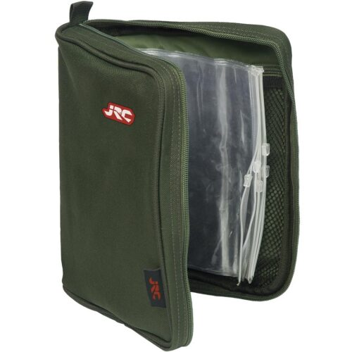 Jrc contact rig wallet brean caravan and angling shop for Rigged fishing backpack
